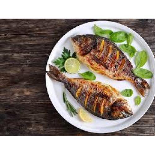 سمك مشط مشوي أو مقلي